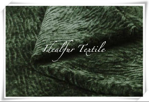 Soft and Smooth Pure Wool Knitting Faux Fur Fabric pictures & photos