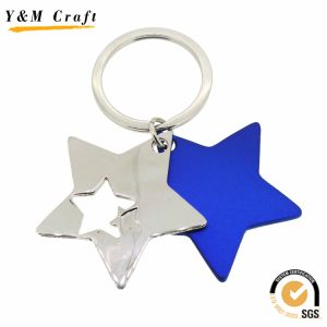 Lovely Star Shape Metal Keychain (Y02620) pictures & photos