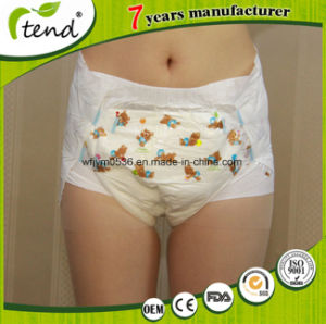 Overnight High Absorbency Adult Diaper Abdl Factory China Wholesale pictures & photos