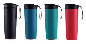 New Design Travel Thermo Drinking Non-Spill Mighty Mug Suction Mug pictures & photos