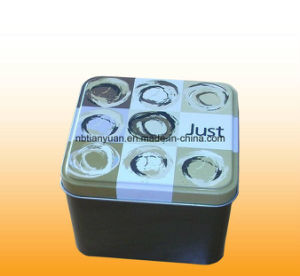 Custom Design Square Tin Box