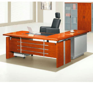 Modern MFC Laminated MDF Wooden Office Table (NS-NW206) pictures & photos