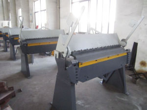 Wh06-2.5X1220 Hand Type Folding and Bending Machine pictures & photos