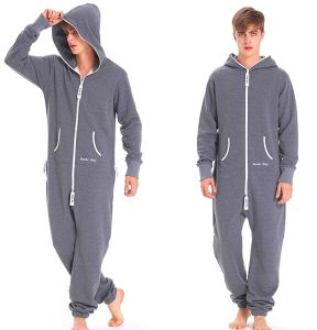 New Arrival Adult Onesie Jumpsuit One Piece Jump in Suit Zipped Hoodie Jumpsuits pictures & photos