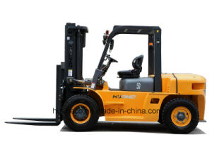 5.0Ton Diesel Forklift with Japanese Engine (HH50Z-W6-D, ISUZU 6BG1 Engine)