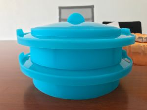 Platinum Silicone Microware Cooker/Steam Container pictures & photos