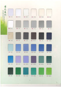 Formica Colors/Modern Kitchen Cabinet/High Pressure Laminates/HPL pictures & photos