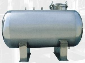 Stainless Steel Bedfast/Horizontal Liquid Storage Tank pictures & photos