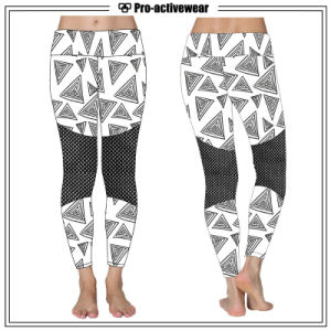 Spandex Nylon Sportswear Customized Sublimation Fashionable Design Women Yoga Legging pictures & photos
