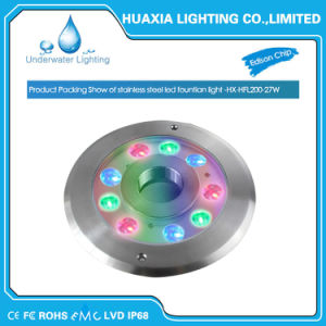 RGB 27W High Quality LED Fountain Underwater Light pictures & photos