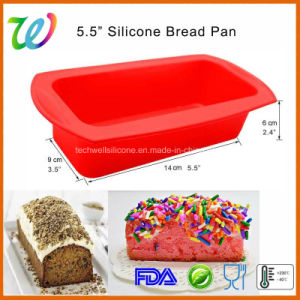 Microwave Oven Safe Silicone Non-Stick Bread Pan pictures & photos