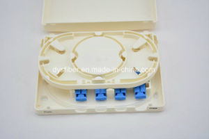 FTTH/FTTX 4 Port Mini Termination Box pictures & photos