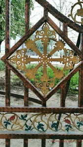 Art Deco Forged Wrought Iron to Customized pictures & photos