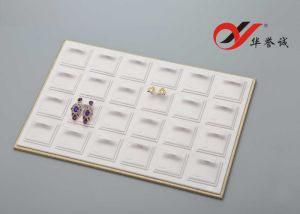 24 Components Earring Stud Tray with Acrylic Cover pictures & photos