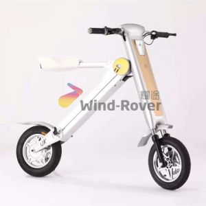 Wind Rover 2 Wheels Electric Bicycle Foldable Dirt Bike Smart Electric Bike pictures & photos