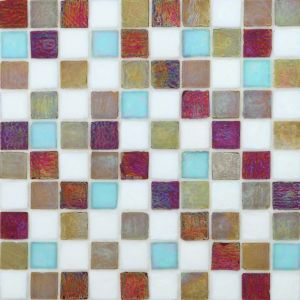 Building Material Glass Mosaic Tiles for Kitchen Wall pictures & photos