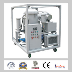 Hermetical Style No Noise Vacuum System High Efficiency off Water Content Lubricating Oil Purifier Machine /Turbine Oil Filtration (ZRG) pictures & photos