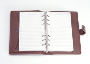 High Quality Custom-Made Stationery PU Leather Customized Notebook pictures & photos