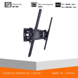 Adjustable Wall Bracket Angle Tilt LCD Bracket 40-65 Inch pictures & photos