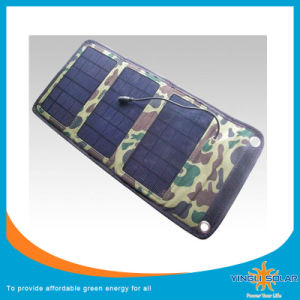 Solar Charger 14W Foldable Solar Charger with USB Without Battery pictures & photos