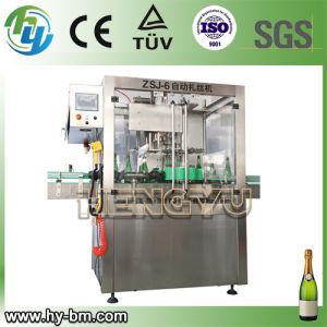 SGS Champagne Capping Machine (ZSJ-6) pictures & photos