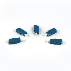 High Quality LC Quad APC Upc 4 Cores Standard Fiber Optic Adapter pictures & photos