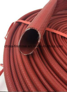 Flexible Rubber Fire Hose Pipe 2.5 Inch/ 3 Layers Fire Fighting Hose / Heat Resistant Hose Pipe pictures & photos