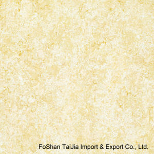 Buliding Material 600X600mm Yellow Tulip Porcelain Polished Tile (TJ6502) pictures & photos