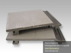 Made in China Factory Price Outdoor Wall Cladding, Building Materials Decorative WPC Wall Board pictures & photos