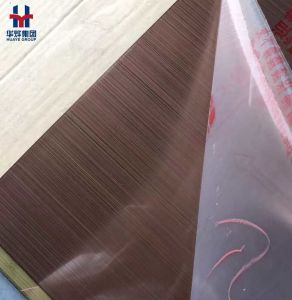 Good Quality Titanium Coated Stainless Steel Colored Sheets Decorative Plates pictures & photos