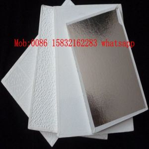 High Quality PVC Vinyl Gypsum Ceiling with Designs (567, 154) pictures & photos