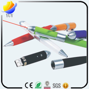 Fancy Metal and Plastic USB Pen pictures & photos