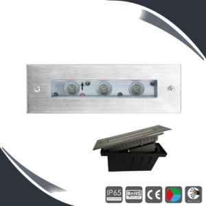 3X3w 316ss Underground LED Deck Light IP66 Ce pictures & photos