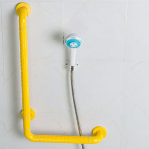 High Quality Anti-Bacterial and Anti-Skidding Nylon L Shaped Grab Bars for Shower pictures & photos