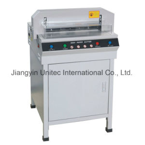 Hot Selling Mechanical Guillotine Bindsing Machine 450V+ pictures & photos