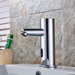 FLG Bathroom Vessel Auto Sensor Water Basin Tap pictures & photos