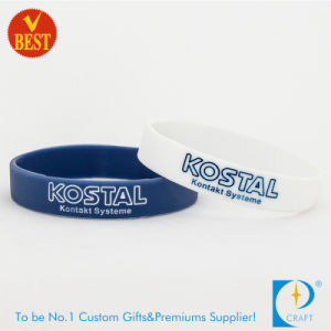 OEM Promotional Fashion Custom Rubber Wristbands pictures & photos