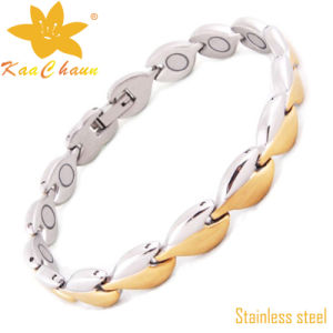 24k Fashion Gold Stainless Steel Bracelets pictures & photos
