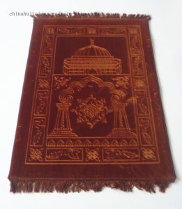 70*110cm High Quality Thick Raschel Muslim Prayer Carpet Rugs