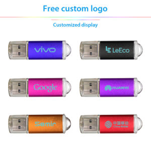 Free Customize Logo USB 2.0 Flash Drive, 8 Colors pictures & photos