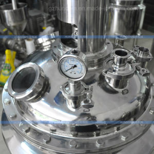 Energy-Saving Stainless Steel Chemical Reaction Tank Reactor Pressure Vessel pictures & photos