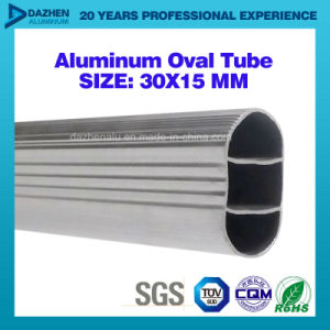 Factory Sale Wardrobe Oval Round Tube Aluminum T5 Profile 6063 pictures & photos