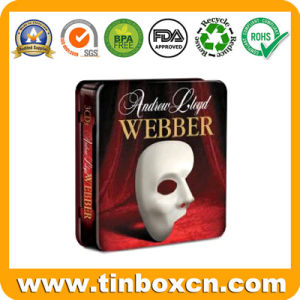 Metal CD Tin Box with Sling for DVD Case Packaging pictures & photos