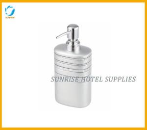Hotel Bathroom Silver Resin Liquid Dispenser pictures & photos