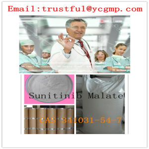 Top Quality Pharmaceutical Grade Sunitinib Malate CAS 341031-54-7 Anti-Cancer pictures & photos