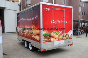 Australia Standard Hamburger Food Service Trailer pictures & photos