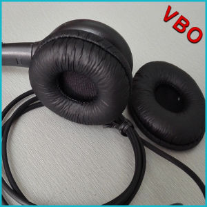 Headset Leatherette Ear Cushion Replacement Earpad pictures & photos