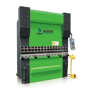 We67k 600t/6000 Dual Servo Electro-Hydraulic CNC Bender