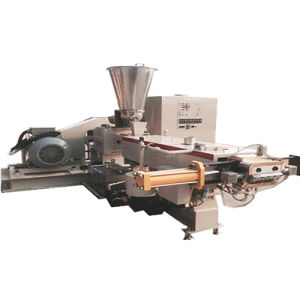 Pelletizing Plastic Twin Screw Extruder for Masterbatch