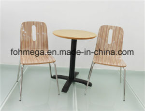 Two Person Round Table for Restaurant/Cafe (FOH-CXSC62) pictures & photos